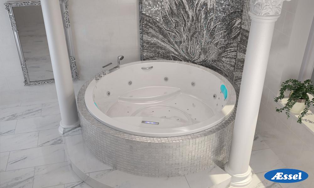 Круглые ванны фото