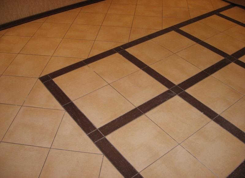 фото кафель на кухне на полу