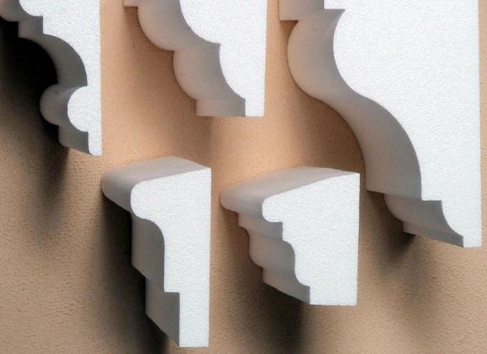 Декор фасада из пенопласта своими руками видео